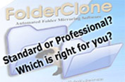 FolderClone or FolderClone pro - which is right for you?