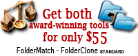FolderClone and FolderMatch for one great price